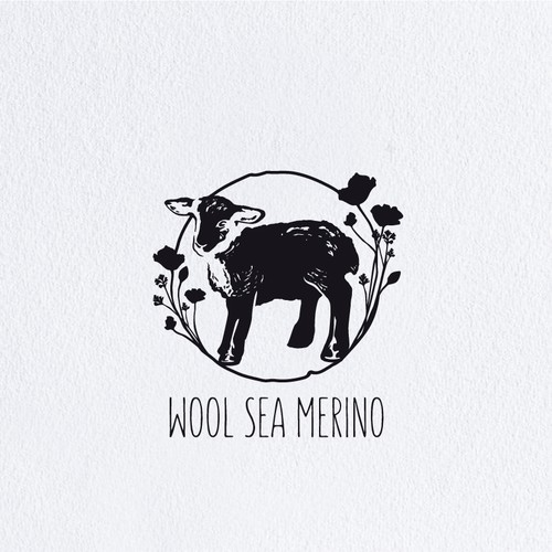 A charming logo for children's apparel company