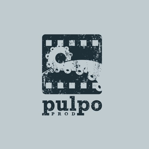 Logo for a film production company