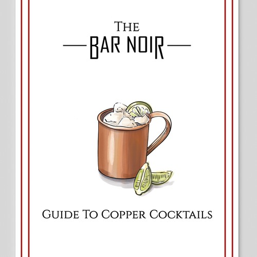 Cocktail Recipe Pamphlet