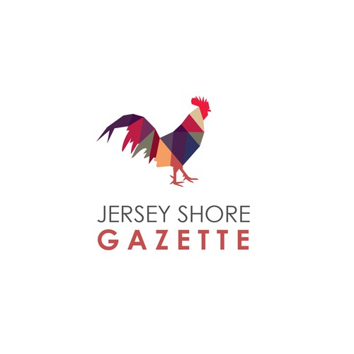 Concept logo for  Jersey Shore Gazette