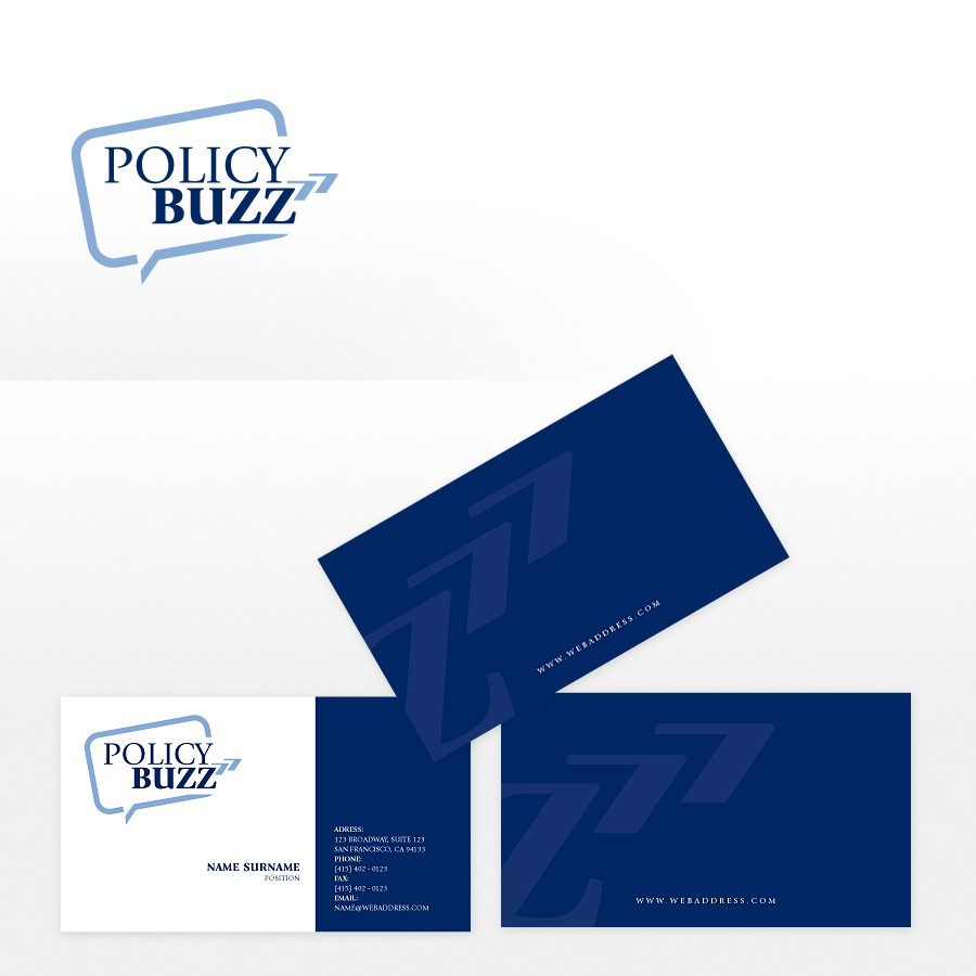 Create the next logo for Policy Buzz