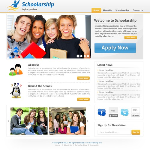Website Design for Reduce Student debt!