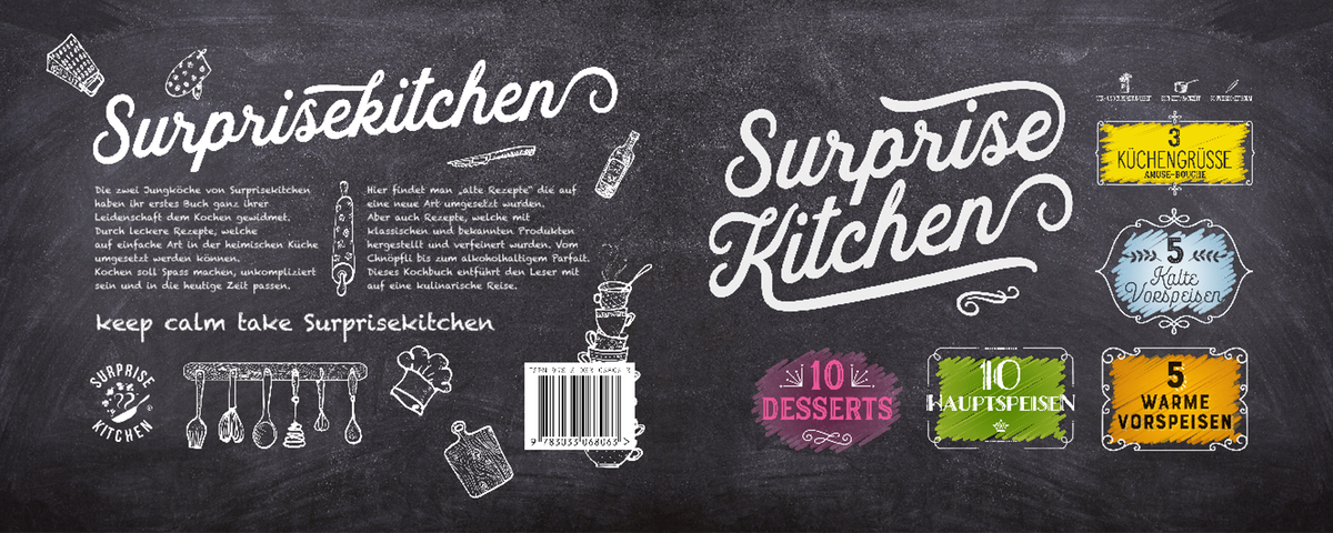 SURPRISEKITCHEN - Book completion