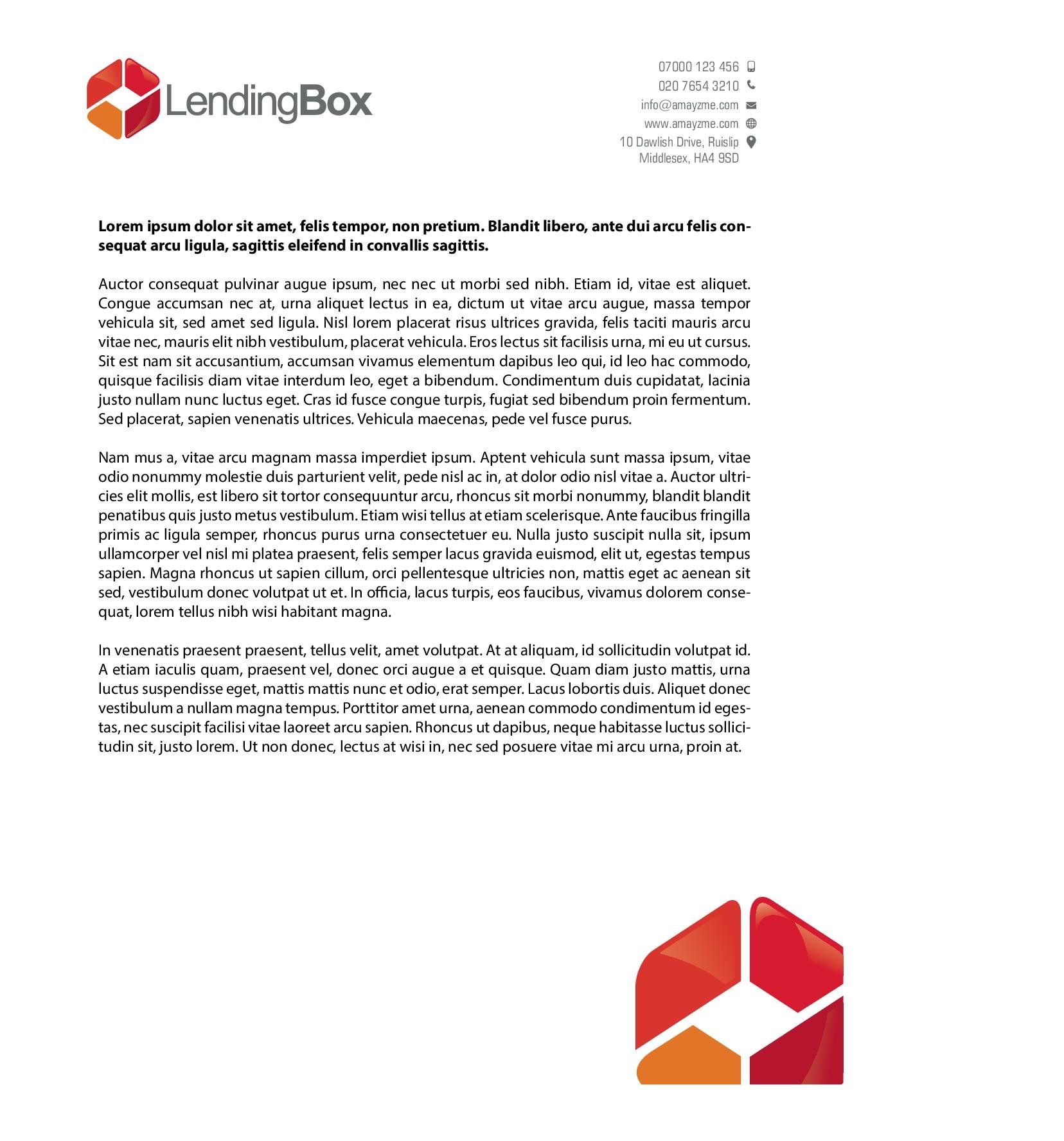Create brand book for LendingBox