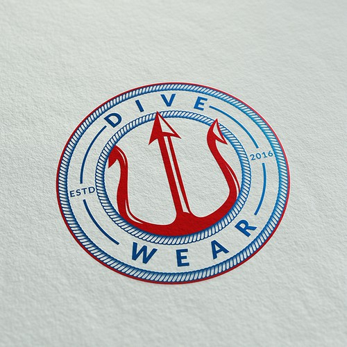 Logo for Scuba Diving apparel company