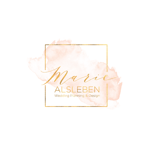 Logo & Website for a Wedding Planner