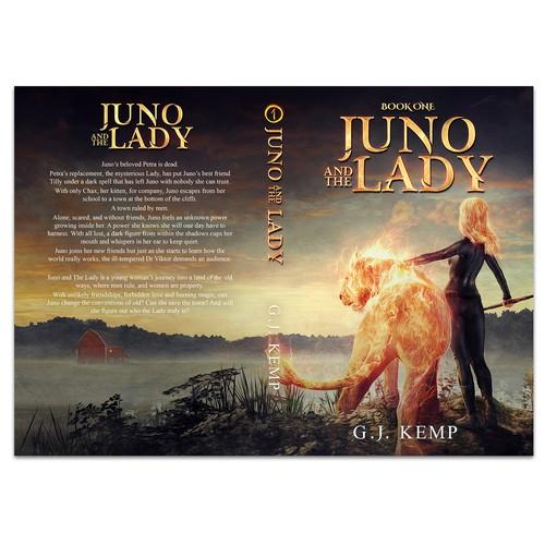 朱诺和女士的书籍封面由G. J. Kemp