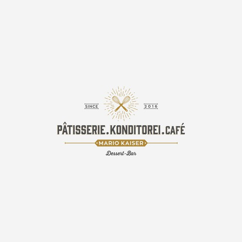 Logo and Website for a new urban Pastry Store in Berlin