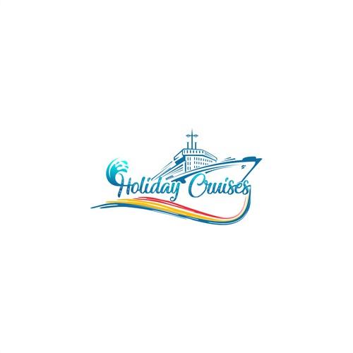 Holiday Cruises Simple design logo