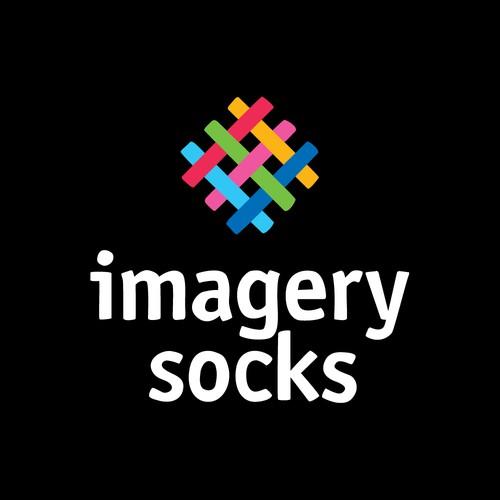 Novelty socks logo