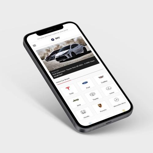 Website Redesign - MV Cars
