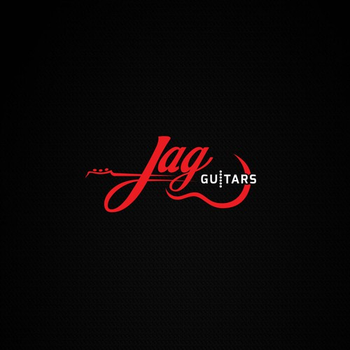 Logo concept for Jag Guitars.