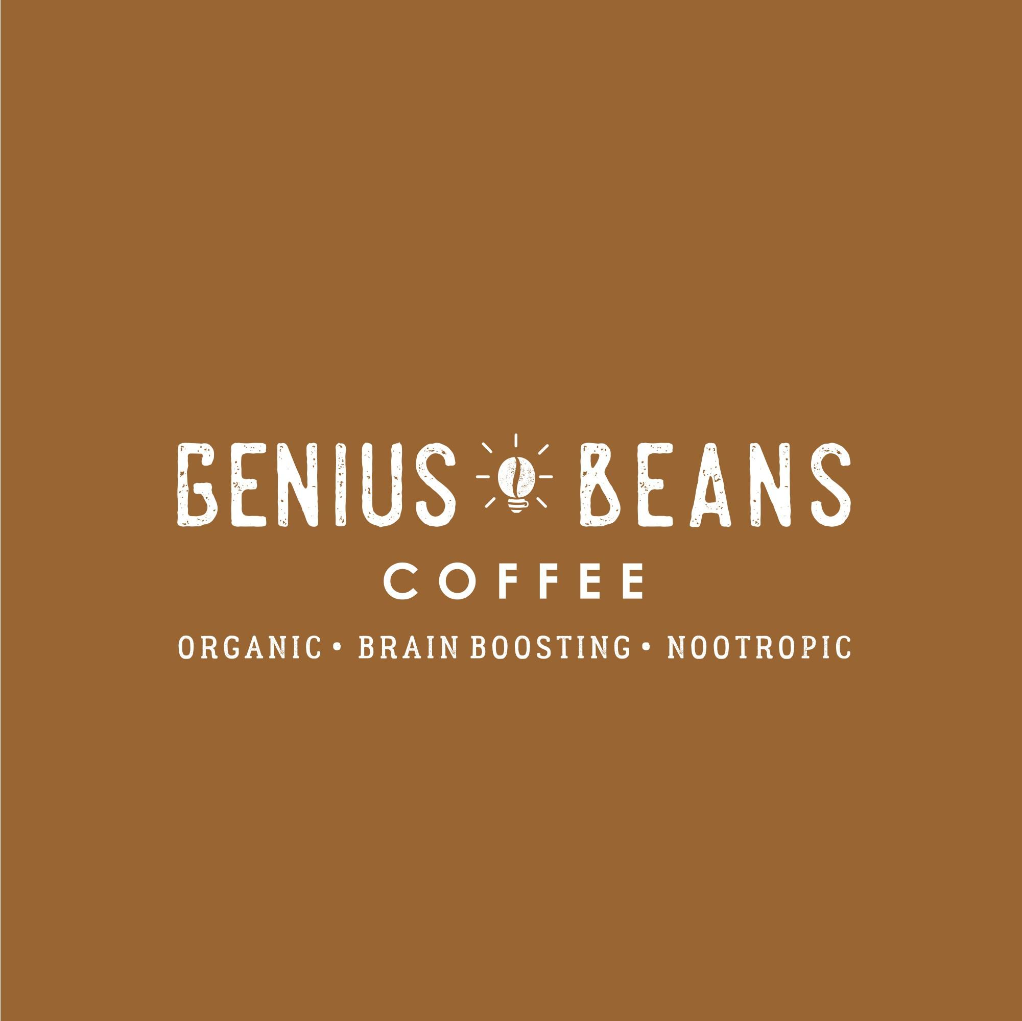 brand logo for an organic nootropic enhanced coffee company