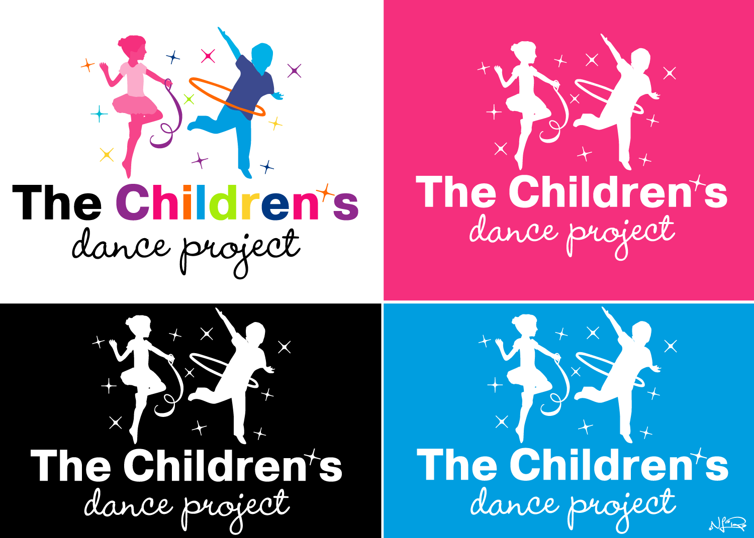 Create the next logo for The Children's Dance Project