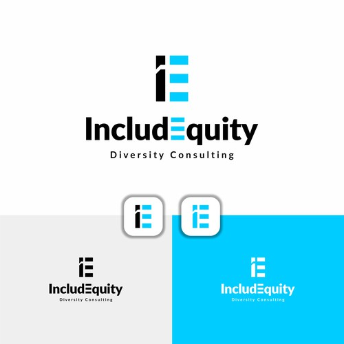 Logo Works For IncludEquity : Diversity Consulting