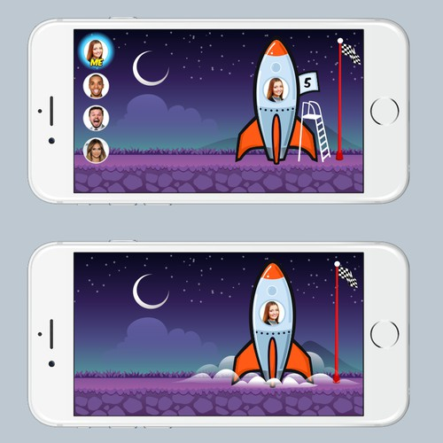 To The Moon Game app