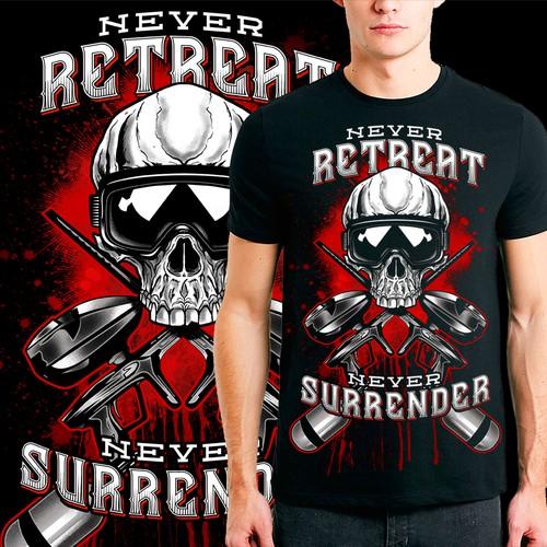 Never retreat nor surrender