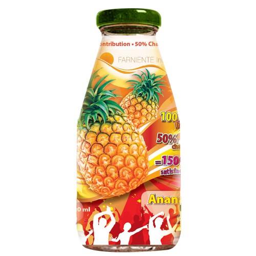 FRUITS JUICES LABELS DESIGNER