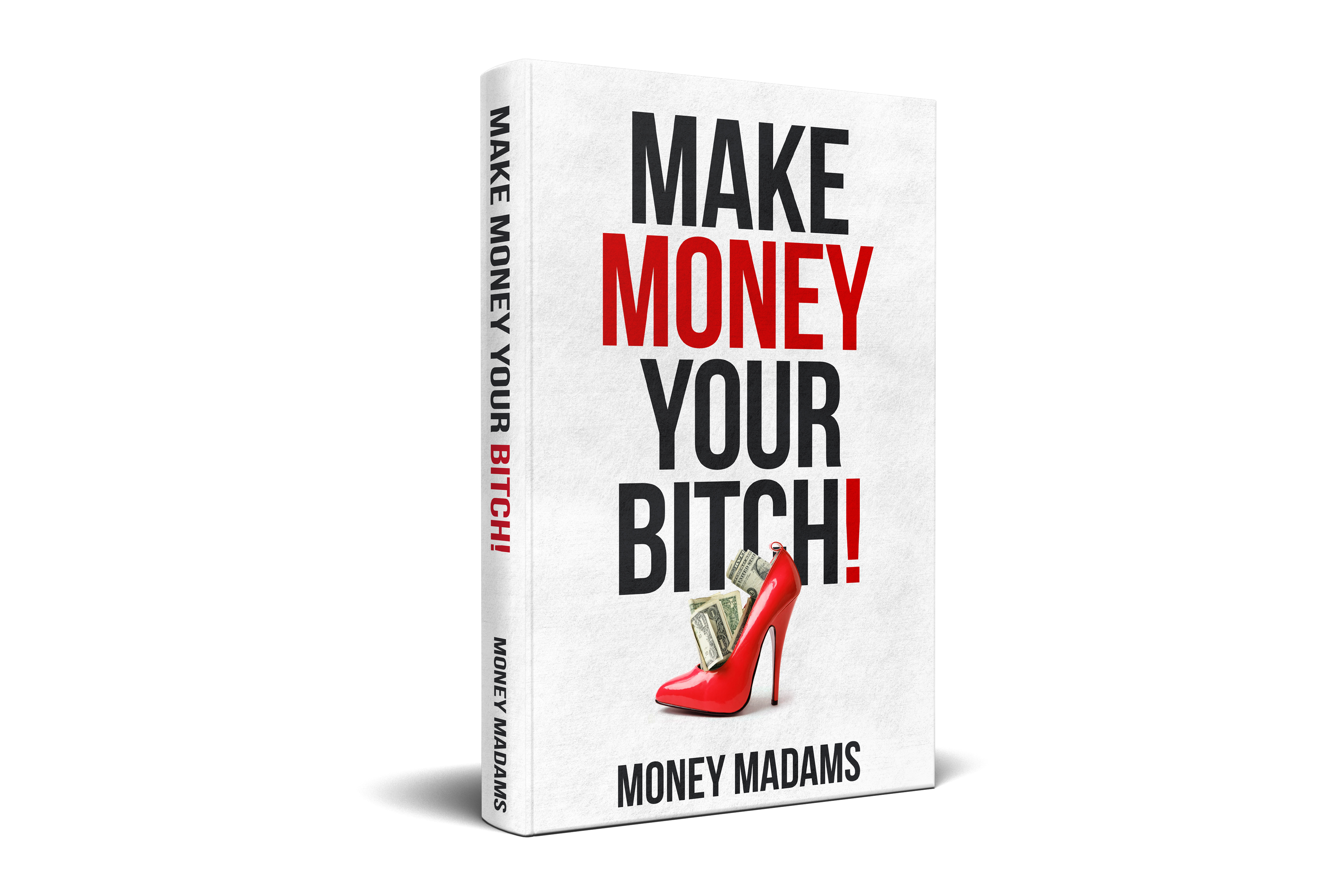 Design a bold and entertaining cover for a personal finance book