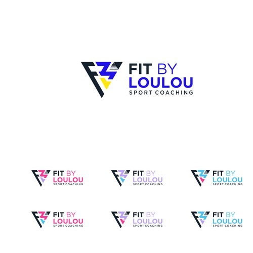 Logo designs for FIT BY LOULOU