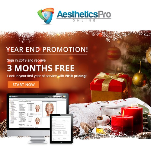 1-1 Project - Email design for AestheticsPro Online