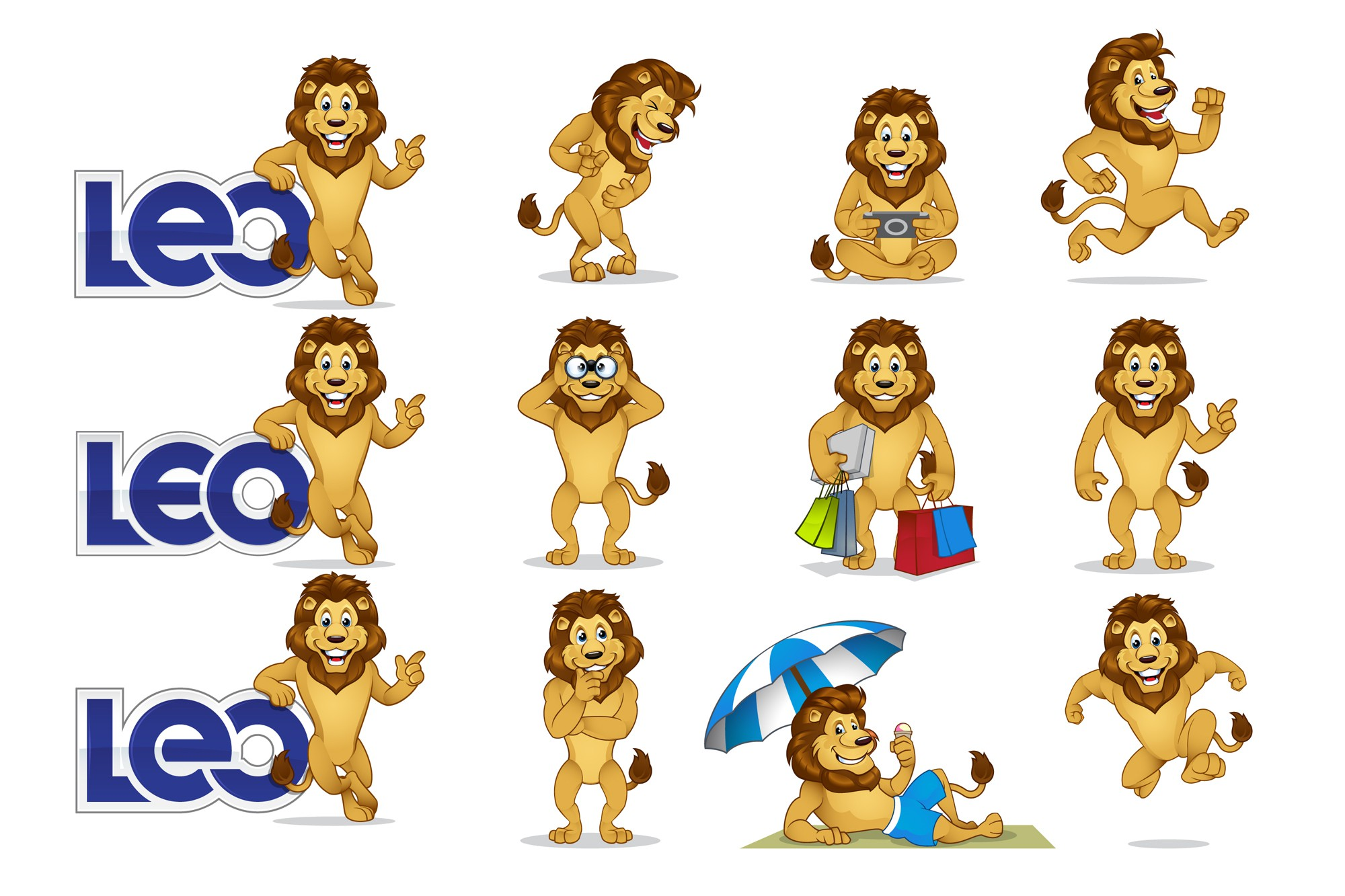 Fun and Creativity Required for LEO Logo and LEO the Lion