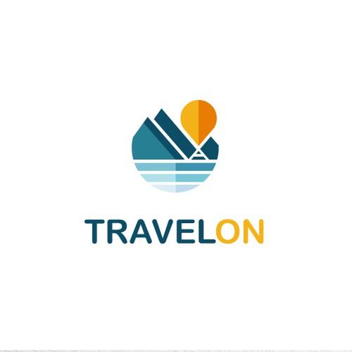 Designs a cool travel logo