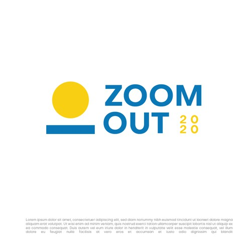Zoom Out - Annual meet Logo