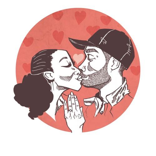 An illustration for love!