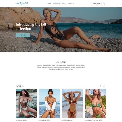 Theme Bikini Squarespace E-commerce