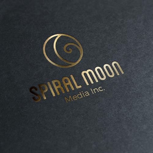 Logo design Spiral Moon
