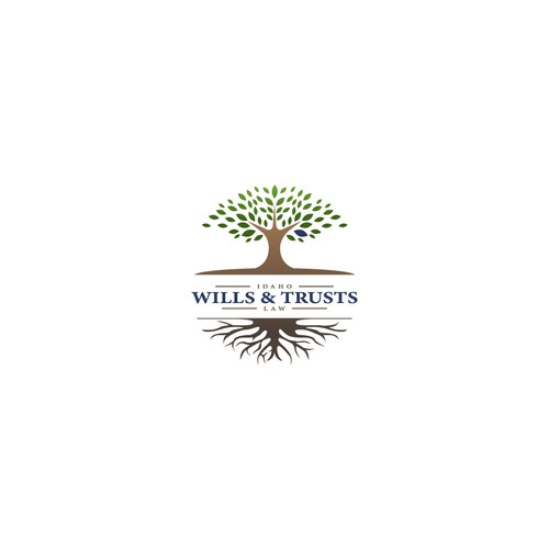 Sophisticated logo for Idaho Wills and Trusts Law