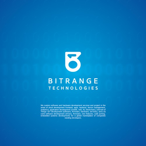 Logo concept for BitRange Technologies