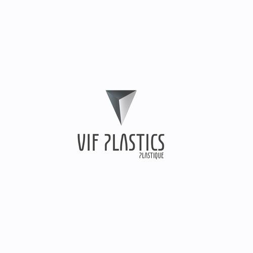 VIF Plastics logo redesign