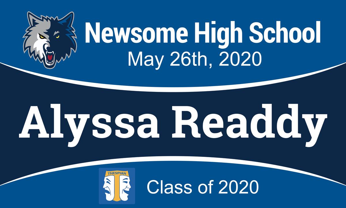 Newsome Senior Banner