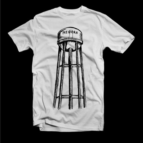Water Tower Drawing T Shirt Contest