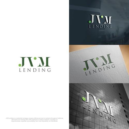 Design a logo for a growing, modern California mortgage company: JVM Lending.
