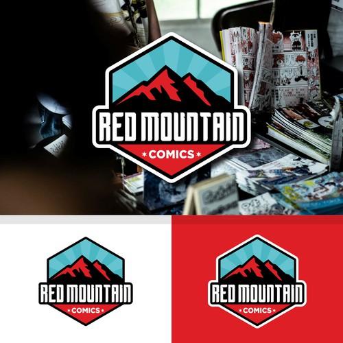 Adventure retail apparel comic logo