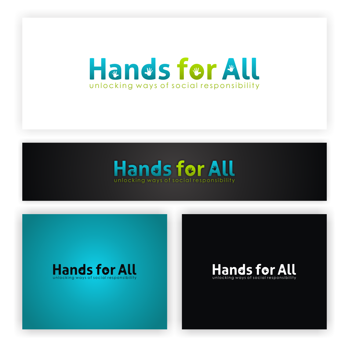 Create the next logo for Hands for All