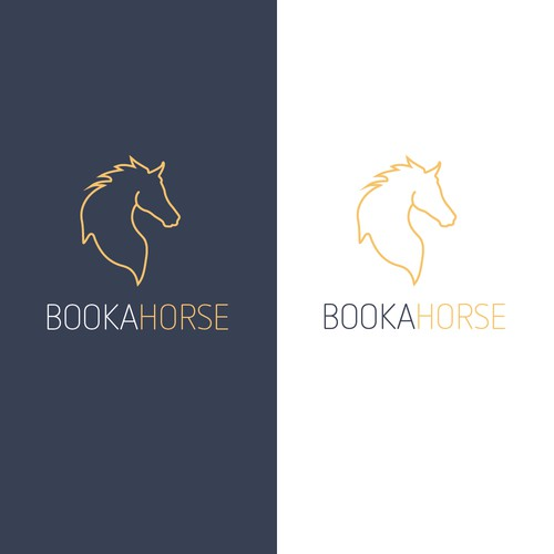 Minimalistic Logo for BookaHorse