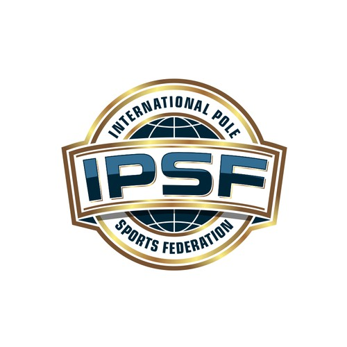 Logo for international pole sports federation