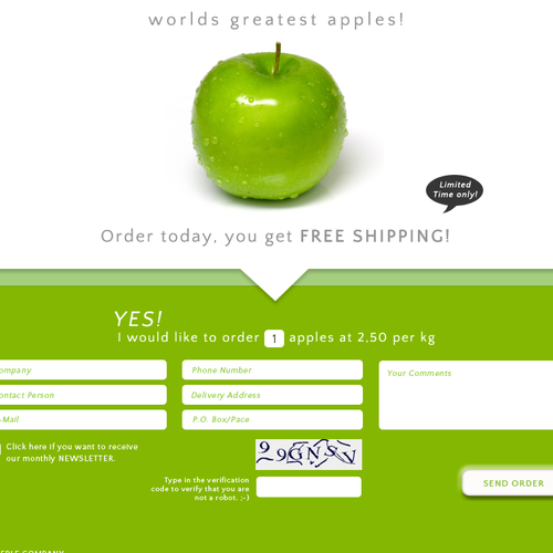 Apples needs a new website design