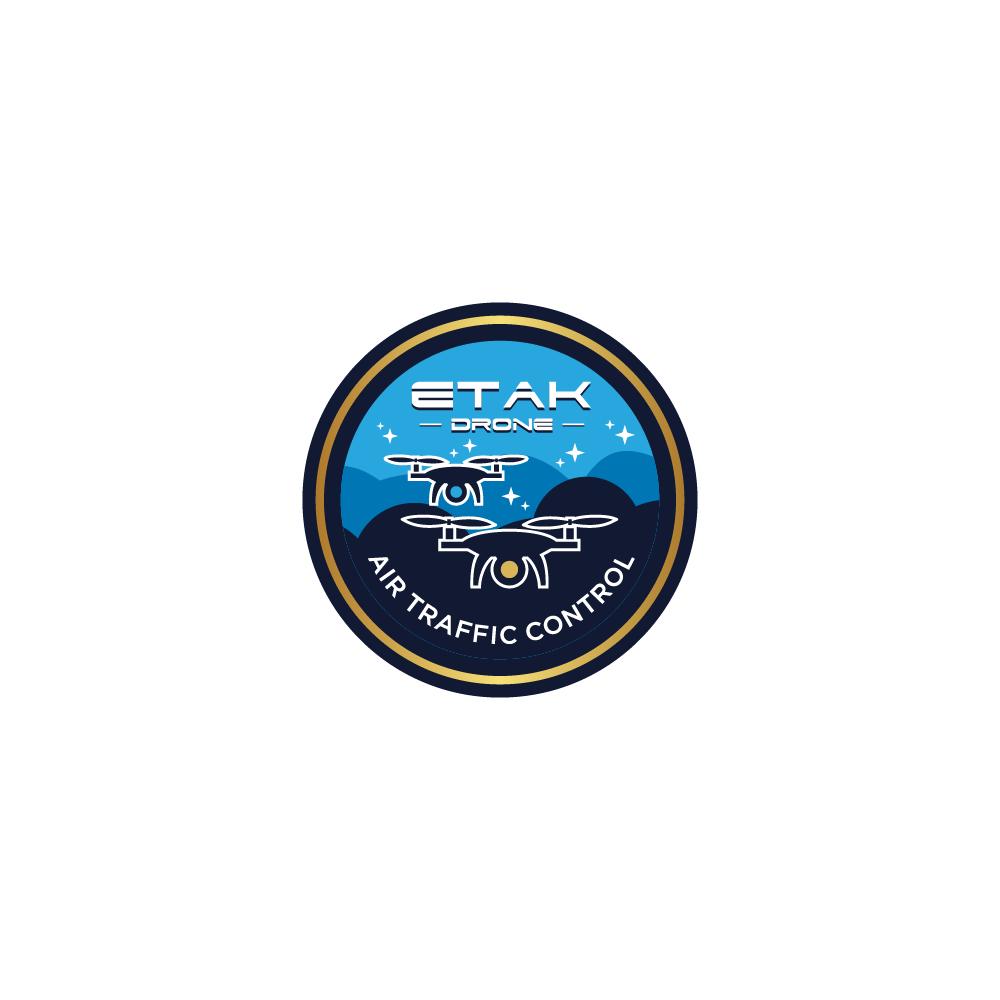 Drone Air Traffic Control logo design