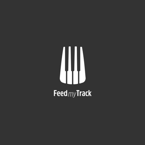 logo for a website where musicians trade feedback on songs
