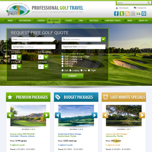 Professional Golf Travel, Inc.