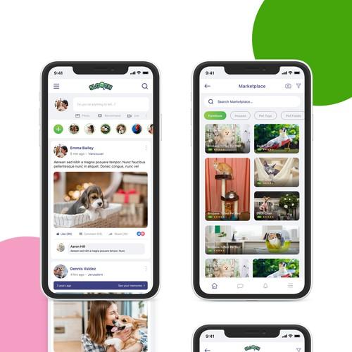 Social Media App for Pet