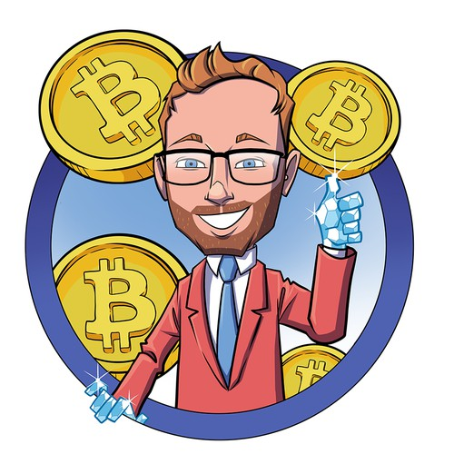 CHARACTER DESIGN FOR A BITCOIN YT CHANNEL