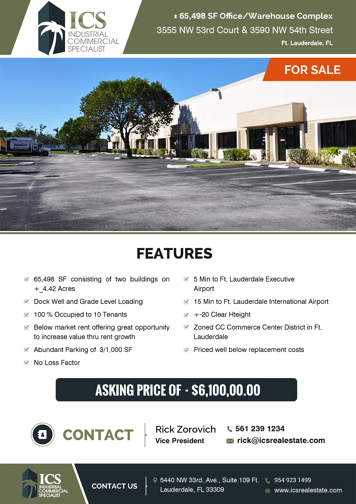 Ft. Lauderdale Building For Sale