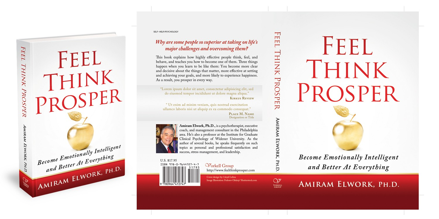 "Book Cover Design Needed for ""Feel, Think, Prosper"""