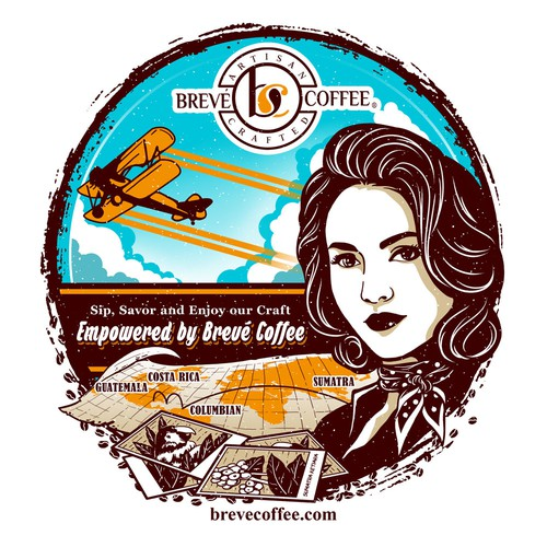 Brave Coffee Girl